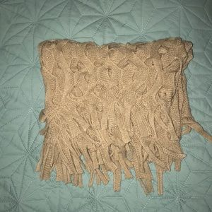 Scarf, Light brown